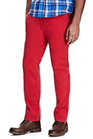 North Coast Pure Cotton Slim Fit Straight Leg Chinos