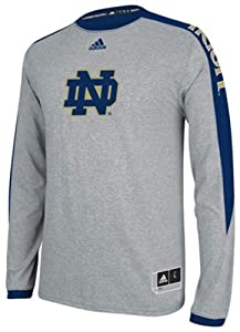 Adidas Notre Dame Fighting Irish Adult On Court Long Sleeve Shooter Top by adidas