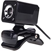 Generic NG-150 USB 2.0 12 Megapixel 360 Degree Web Cam With MIC For Desktop Black
