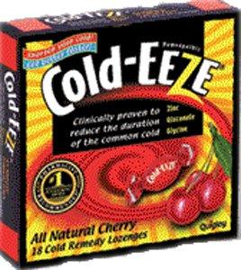 Cold-Eeze Original Natural Honey Lemon Cold Remedy Lozenge - 18 Per Pack