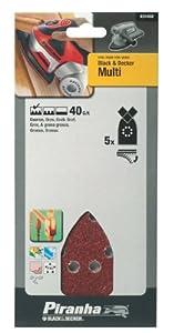 Black & Decker X31432 Multi Sander Sheets (5) Coarse