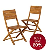 2 Barnsdale Folding Chairs
