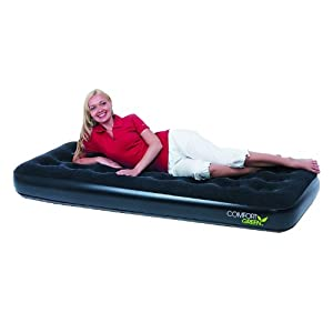 Bestway Luftbett Comfort Quest Green Single Size, 185 X 76 X 22 cm, 67379