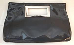 Michael Kors Berkley Slate Patent Leather Clutch