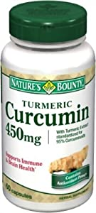 Nature's Bounty Turmeric/Curcumin, 60 Capsules (Pack Of 2) by Nature's Bounty