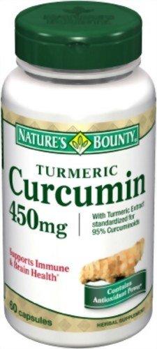 Nature's Bounty Turmeric/Curcumin, 60 Capsules (Pack of 2)