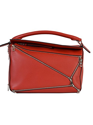 loewe-womens-32630k747695-red-leather-shoulder-bag