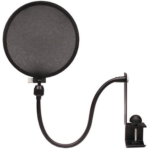 Nady Mpf-6 6-Inch Clamp On Microphone Pop Filter