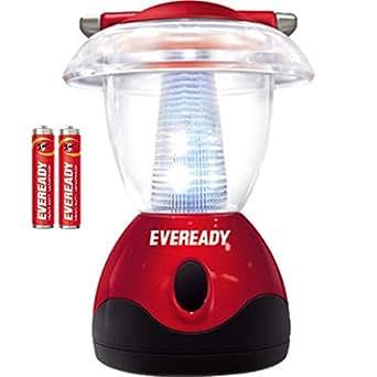 Eveready Mini Jumbo HL04 6-LED Home Light (Red)