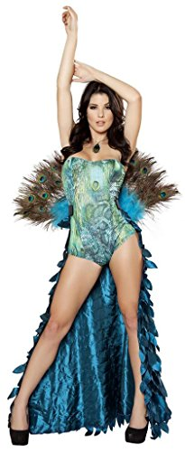 Roma Women's Deluxe Sultry Peacock Costume