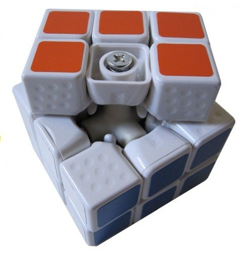 New!! Shengshou 3x3 Linglong 46mm Mini 3x3x3 White Speed Cube Puzzle - 1