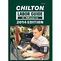 Chilton 978-1-3050-8851-1 2014 Chiltons Labor Guide Cd Rom