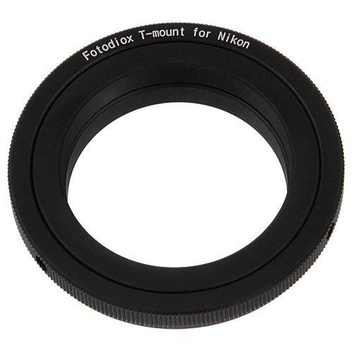 Fotodiox Lens Mount Adapter, T/T2 Lens To Nikon Camera, For Nikon D7100, D7000, D5200, D5100, D3100, D300, D300S, D200, D100, D50, D60, D70, D80, D90, D40, D40X, N70S, D80, D800, D800E, D4, D3, D2, D1