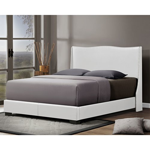 Beds With Leather Headboards 8859 front