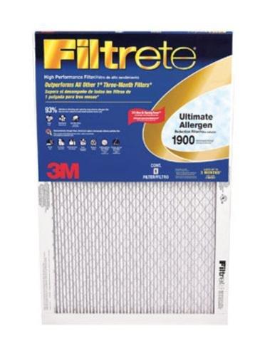 20x25x1, Ultimate Allergen Furnace Filter Air Filter, MERV 11, by 3m