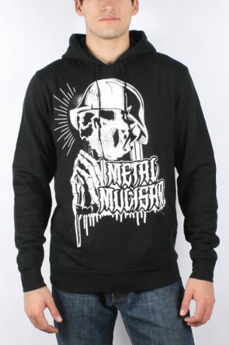 Metal Mulisha - Mens Creed Pullover Hoodie in Black, Size: Small, Color: Black
