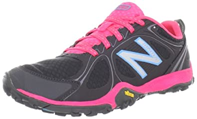 New Balance Women's WO80 Minimus Multi-Sport Hiking Shoe,Black/Pink,6 B US