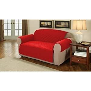 Soft Quilted 2 Seater Sofa Cover Protector Throw Pillar