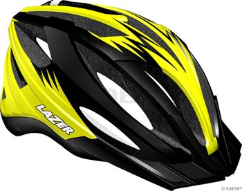 Buy Low Price Lazer Clash Helmet with Visor: Black/Yellow (BLU2005666090)