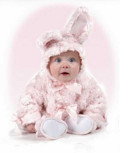 Pink Cottontail Bunny Coat - 12 to 24 Months