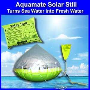 Buy Aquamate Solar Still Emergency Water Purification Inflatable Kit by Aqua Mate