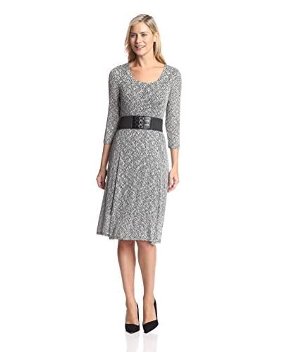 Signature Robbie Bee Women's A-Line Dress with Belt