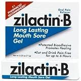 Zilactin-B Long Lasting Mouth Sore Gel - .25 Oz