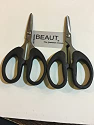 Beaut Stainless Steel Scissor, 2 Inch Blade, Pack of 2