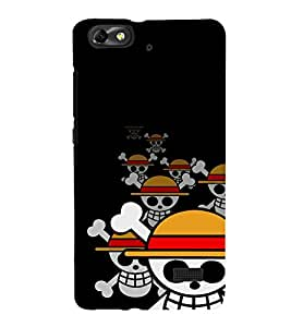 EPICCASE laughing skeleton Mobile Back Case Cover For Xiaomi Redmi Mi4c (Designer Case)