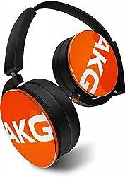 【国内正規品/日本限定カラー】AKG Y50 密閉型オンイヤーヘッドホン DJスタイル オレンジ Y50JEORN