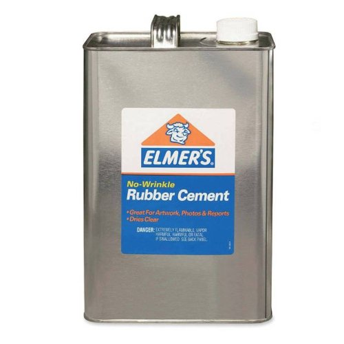 Elmer`s® Rubber Cement, Repositionable, 1 Qt
