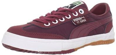 Puma Tt Super Ripstop Sneaker,Team Burgundy/White,4 US/5.5 D US