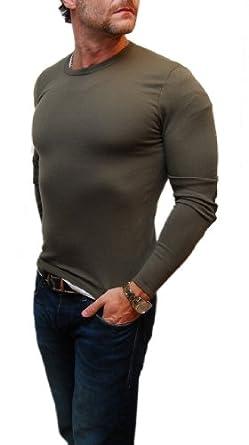 Buy Polo Ralph Lauren Black Label Mens Green Olive Shirt Sweater Wool by RALPH LAUREN