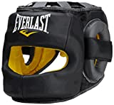 EVERLAST 【エバーラスト正規品】SAFEMAX PROFESSIONAL HEAD GEAR ブラック LXL EV570401