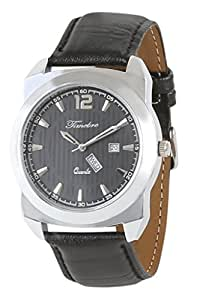 Timebre Men Time&Date Black Casual Watch