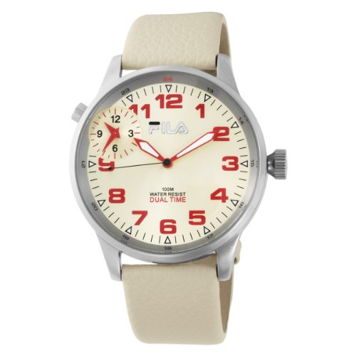 Fila Men's 404-03 3 Hands Dual Time Commuter Watch