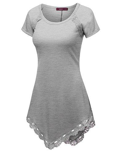 doublju-womens-short-sleeve-round-neck-lace-heming-asymmetrical-tunic-shirts-heathergray-xx-large