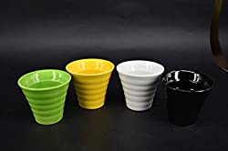 bauer pottery small flowerpot
