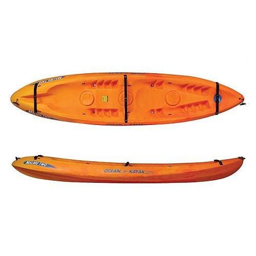 Ocean kayak 12ft malibu two tandem sit on top recreational for 12ft fishing kayak