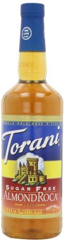 Torani Syrup, Sugar Free, Almond Roca, 33.81-Ounce (Pack of 3)