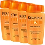 KERASTASE Nutritive Bain Oleo Curl Shampoo 250ml x4