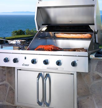 Dacor Stainless Steel Built In Barbecue Grill OB52NG