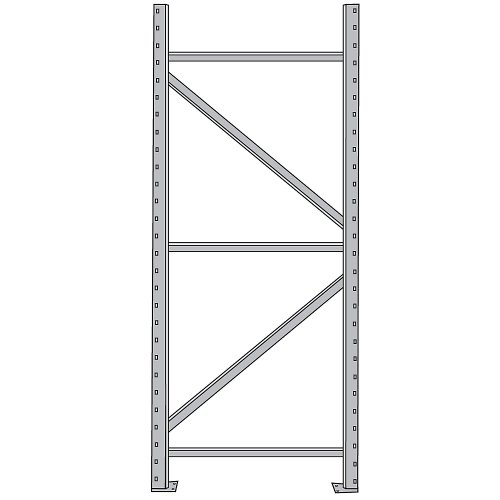 PENCO Pallet Storage Racks- LETTER A ONLY