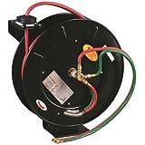 50 FT Oxygen Acetylene Dual Welding Retractable Reel w/ Hose