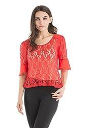 Kazo Women's Body Blouse Shirt (107637FLMSTm)