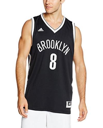 adidas Maglia Smanicata Brooklyn Nets Williams  [Nero/Bianco]