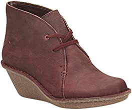 Clarks Womens Casual Clarks Marsden Lily Nubuck Boots In