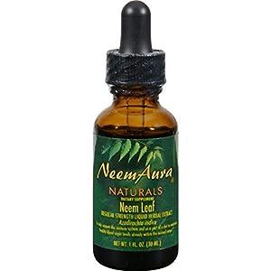 Neemaura Naturals Neem Leaf Extrc,og2,w/alc, 1 Oz by Neemaura Naturals