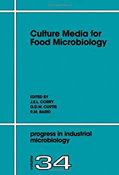 culture media for food microbiology. volume 34 (progress in industrial microbiology) - j.e.l. corry. g.d.w. curtis and r.m. baird