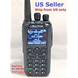 AnyTone AT-D878UV GPS + 2 Free Items !! Updated firmware Upgraded 3100mAh Battery Dual Band DMR/Analog 144 & 480 MHz Radio